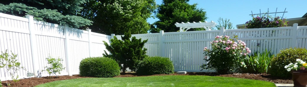 Riverton Vinyl Fence 1 Selection Of Vinyl Fences In